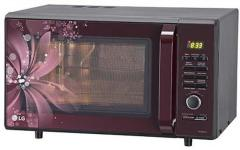 337f8bd0d04 LG 28 litre MC2886BRUM Convection Microwave Oven Black price in ...