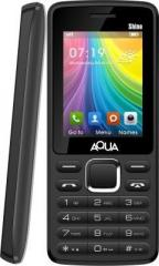 50bfe16152e Aqua Shine Dual SIM Basic Mobile Phone Price in India 30th May 2019 ...