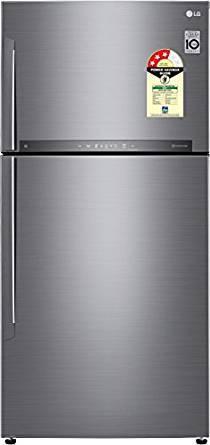 Lg 546 Litres 3 Star GN H702HLHU Inverter Frost Free Double Door  Refrigerator
