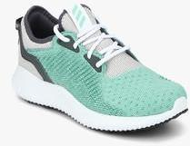 15f6bdc7c Adidas Alphabounce Lux W Green Running Shoes for women - Get stylish ...