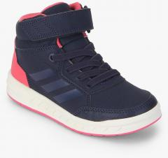 new concept 69cf3 59d01 Adidas Altasport Mid El K Navy Blue Sneakers girls