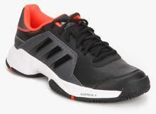 Adidas Barricade Court Black Tennis Shoes for Men online in India at ... e8c19733f