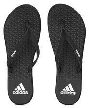 66066c298 Adidas Black EEZAY SOFT Textured Flip Flops for women - Get stylish ...