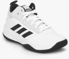 b819dcda91ce Adidas Cf Ilation 2.0 K White Basketball Shoes for girls in India ...