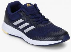 newest 883f7 8ae21 Adidas Mana Bounce 2 J Navy Blue Running Shoes girls