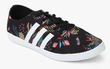 Vulc Adidas Sneakers Black Cloudfoam Stylish For Women Qt Neo Get qtH7C6tZ
