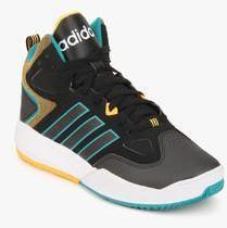 Adidas Neo Cloudfoam Thunder Mid Black Sneakers