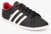 adidas neo coneo qt black sportiva scarpe da ginnastica per le donne alla moda