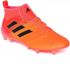 09b9a39f8 Adidas Orange Ace 17.1 FG Mid Top Football Shoes for Men online in India at  Best price on 13th July 2019, | PriceHunt