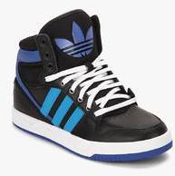Adidas Originals Court Attitude Black Sneakers for girls in India - Buy at  Lowest price March bafc837e5