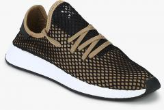 76bf54ac8be9c Adidas Originals Deerupt Runner Brown Sneakers for Men online in ...