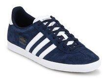 timeless design b626b e3da7 Adidas Originals Gazelle Og Blue Sneakers men