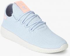 6d4198a8105f8 Adidas Originals Pw Tennis Hu Light Blue Sneakers for women - Get ...