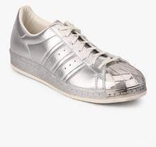 44bfcbc6e8ec Adidas Originals Superstar 80S Metallic Pack Silver Sneakers for Men ...
