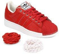 Adidas Originals Superstar Ii Red Sneakers for Men online in India at Best  price on 16th March 2019 469083f43efe