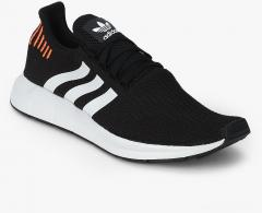 935b64e859b4a Adidas Originals Swift Run Black Sneakers for Men online in India at ...