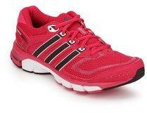 Adidas Response Cushion 22 Red Running Shoes for women - Get stylish ... 337d1e854