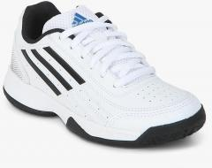 f666f29546ef Adidas Sonic Attack K White Tennis Shoes for girls in India - Buy at ...