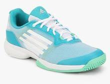 f153f01230b3e0 Adidas Sonic Court Blue Tennis Shoes for women - Get stylish shoes ...