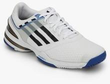 Adidas Sonic Rally White Tennis Shoes men