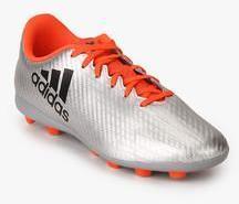 timeless design b4e2c e2ccb Adidas X 16.4 Fxg J Silver Football Shoes boys
