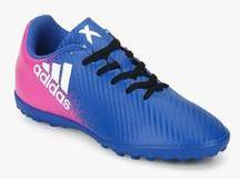 alto vestíbulo Egoísmo  Adidas X 16.4 Tf J Blue Football Shoes for Boys in India January, 2021 |  PriceHunt