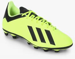 new product 0051e ddf6d Adidas X 18.4 Fg Fluorescent Green Football Shoes for Men online in India  at Best price on 26th May 2019,   PriceHunt
