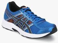 plus récent 15eb1 43f6e Asics Gel Contend 4 Blue Running Shoes men