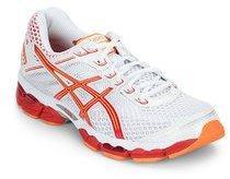 757dd91334f6 Asics Gel Cumulus 15 White Running Shoes for women - Get stylish ...