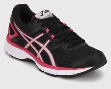 837d193a8dbe Asics Gel Galaxy 8 Black Running Shoes for women - Get stylish shoes ...