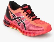 outlet store sale b650d 66bcb Asics Gel Quantum 360 2 Pink Running Shoes men
