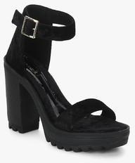 a08fab6d8f57 Catwalk Black Ankle Strap Sandals for women - Get stylish shoes for Every  Women Online in India 2019