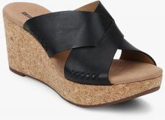 ea24fcca819 Clarks Annadel Danae Black Sandals for women - Get stylish shoes for ...