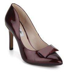 75e8bc5e7243 Clarks Azizi Isobel Maroon Stilletoes for women - Get stylish shoes for  Every Women Online in India 2019
