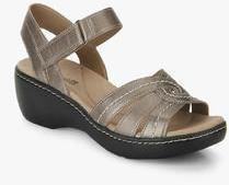 f9faaa4d19c Clarks Delana Varro Copper Sandals for women - Get stylish shoes for ...