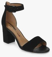 675323b32e7 Clarks Deva Mae Ankle Strap Black Sandals for women - Get stylish shoes for  Every Women Online in India 2019