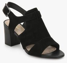 6a73685f9c8 Clarks Deva Star Black Sandals for women - Get stylish shoes for ...