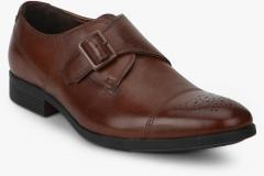 952bfad1ac6 Clarks Gilmore Monk British Tan Formal Shoes for Men online in India ...