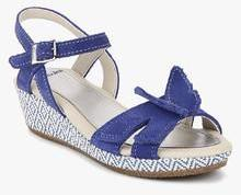 9e301e545ba Clarks Harpy Fly Navy Blue Sandals for girls in India - Buy at ...