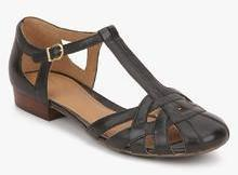 781253ef5c8b Clarks Henderson Luck Black Sandals for women - Get stylish shoes ...