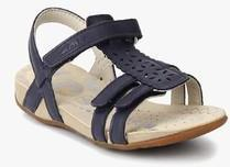 cf2c4bf683f Clarks Riodazzle Navy Blue Sandals for girls in India - Buy at ...