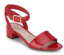 93a2890d2 Clarks Sharna Balcony Red Sandals for women - Get stylish shoes for ...