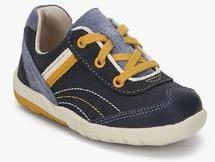 Clarks Softlynile Navy Blue Sneakers boys