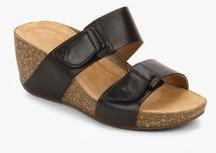 e23664b6d5b Clarks Temira East Black Wedges for women - Get stylish shoes for ...