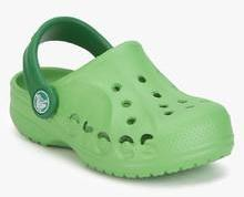 4e579f6b0 Crocs Baya Green Clogs for girls in India - Buy at Lowest price ...