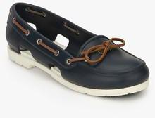 Crocs Beach Line Navy Blue Moccasins for women - Get stylish shoes ... ab78d2709