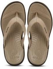 acb61cabcc5c Crocs Capri Iv Coffee Flip Flops for women - Get stylish shoes for Every  Women Online in India 2019