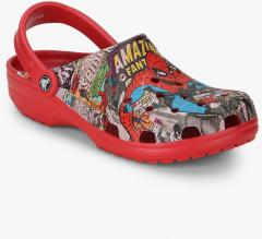 a2c5409a2 Crocs Classic Spiderman Clog Sandals for women - Get stylish shoes for  Every Women Online in India 2019