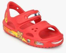 b2f82909f32ded Crocs Crocband Ii Cars Ps As Red Sandals for Boys in India April ...