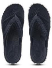 ee8ca3386 Crocs Crocband Lopro Navy Blue Flip Flops for Men online in India at ...
